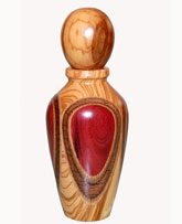 Perfume Atomizers made of Precious and Exotic wood species